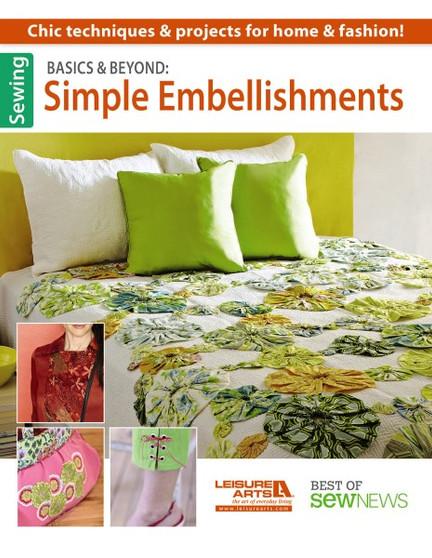 Leisure Arts Basics & Beyond Simple Embellishments Book