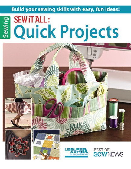 Leisure Arts Sew It All Quick Projects Book