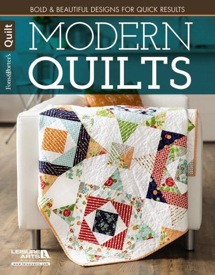 Leisure Arts Fons & Porter Modern Quilts Book