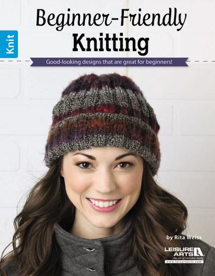 Leisure Arts Beginner-Friendly Knitting Book