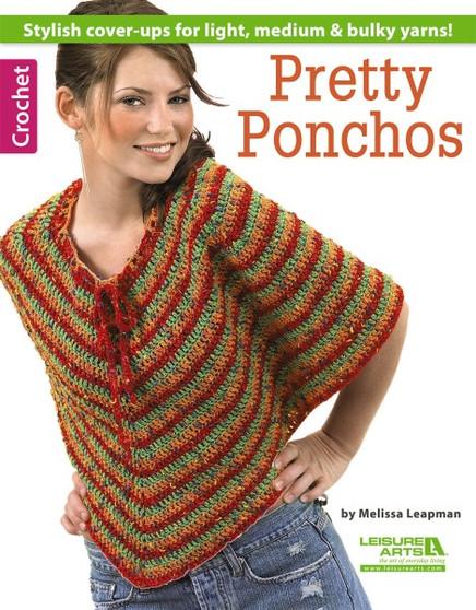 Leisure Arts Pretty Ponchos Book