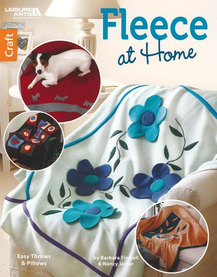 Leisure Arts Fleece At Home Book
