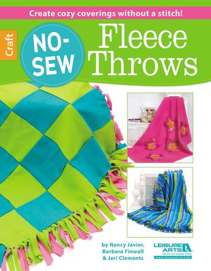 Leisure Arts No Sew Fleece Throws Book