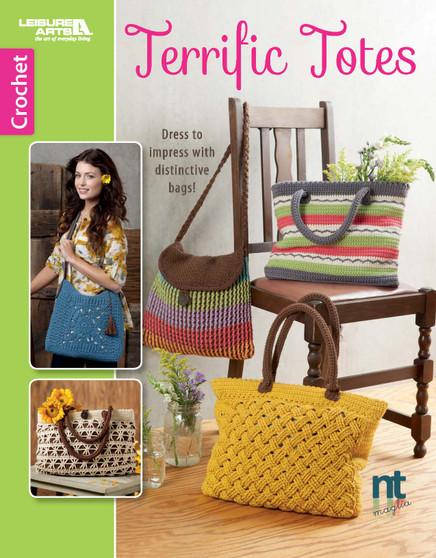 Leisure Arts Crochet Terrific Totes Book
