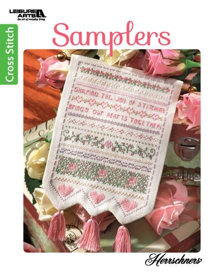 Leisure Arts Samplers Cross Stitch Book