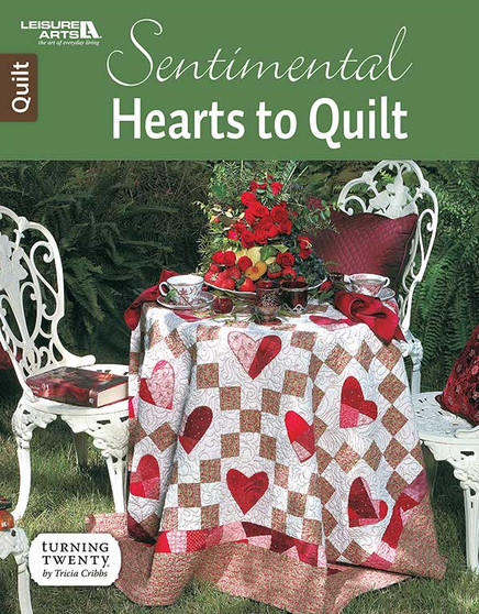 Leisure Arts Sentimental Hearts To Quilt Book