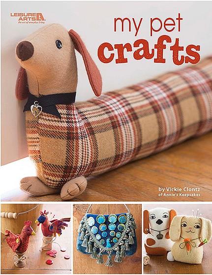 Leisure Arts My Pet Crafts Book