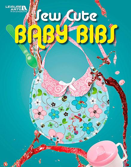 Leisure Arts Sew Cute Baby Bibs Book