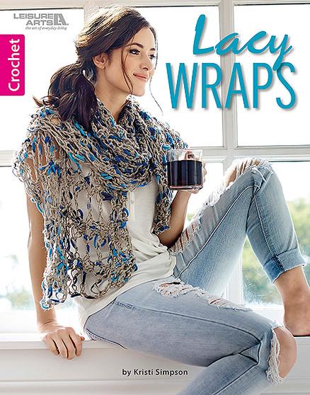 Leisure Arts Lacy Wraps Book