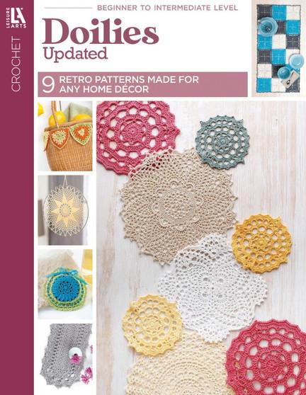 Leisure Arts Doilies Updated Crochet Book