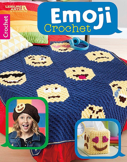 Leisure Arts Emoji Crochet Book