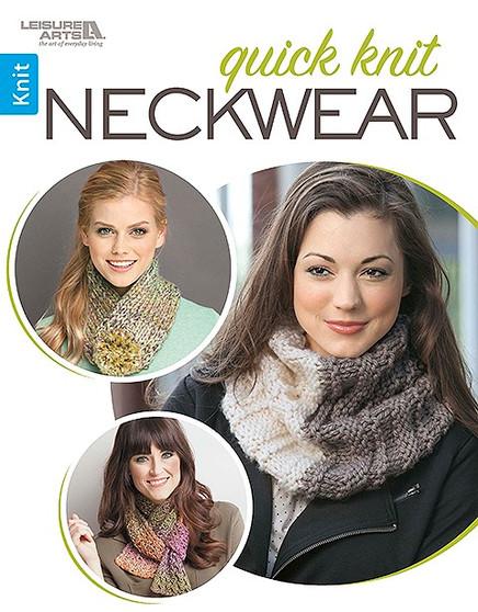 Leisure Arts Quick Knit Neckwear Book