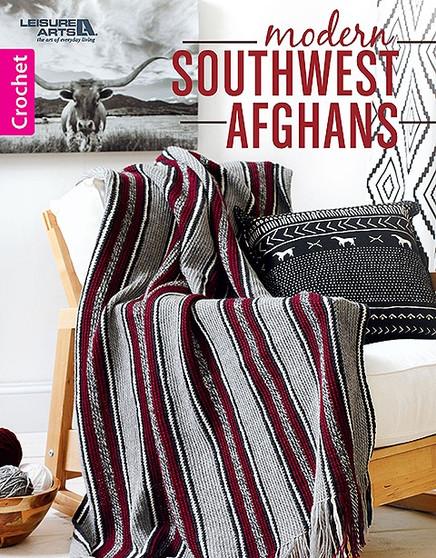 Leisure Arts Modern Southwest Afghans Crochet Book