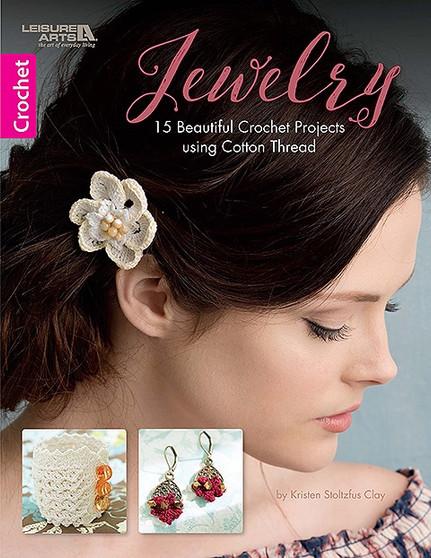 Leisure Arts Jewelry To Crochet Book
