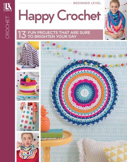 Leisure Arts Happy Crochet Book