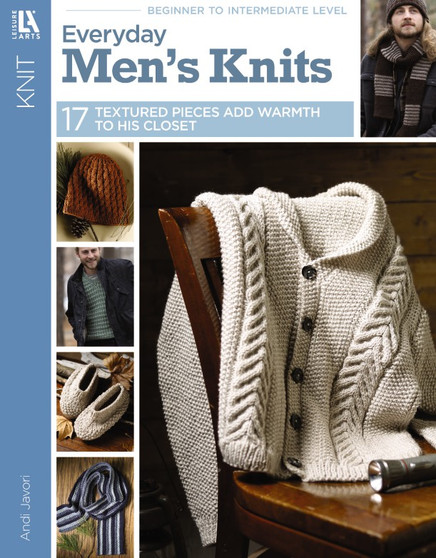 Leisure Arts Everyday Men's Knits Book