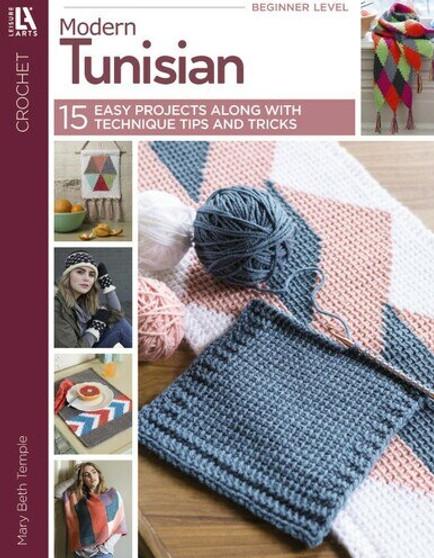 Leisure Arts Modern Tunisian Book