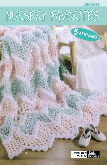 Leisure Arts Crochet Nursery Favorites Book