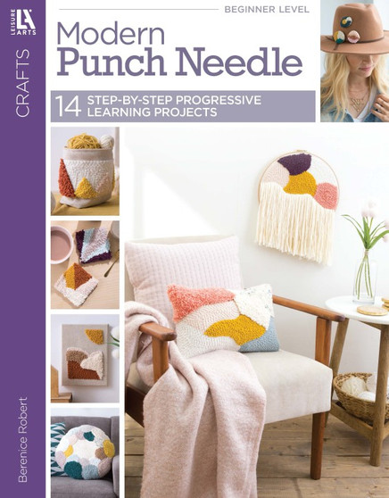 Leisure Arts Modern Punch Needle Book