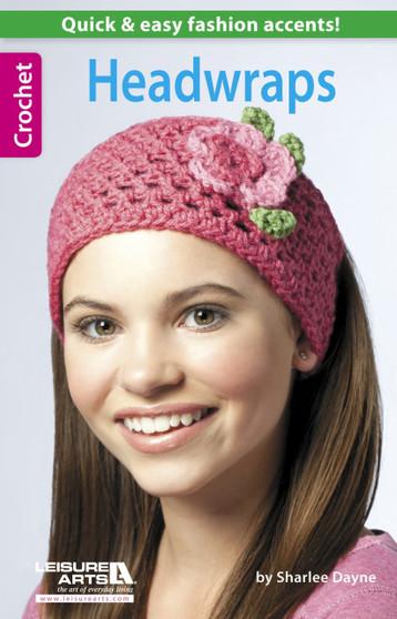 Leisure Arts Headwraps Crochet Book