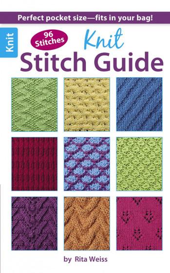 Leisure Arts Knit Stitch Guide Book