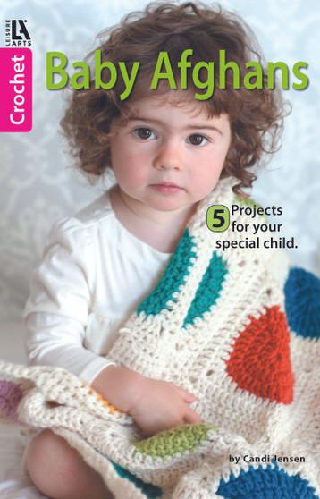 Leisure Arts Baby Afghan Crochet Book