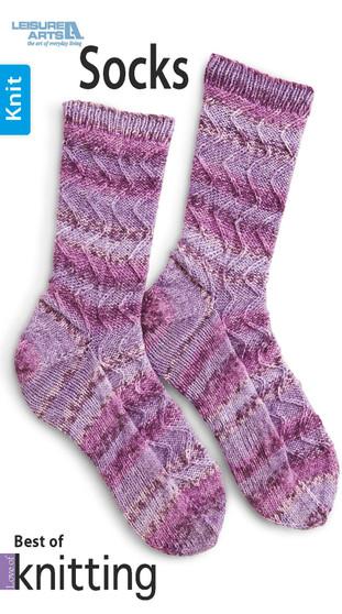 Leisure Arts Best Of Love Of Knitting Socks Book