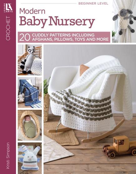 Leisure Arts Crochet Modern Baby Nursery Book