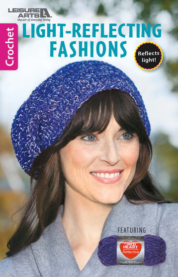 Leisure Arts Light Reflecting Fashions Crochet Book