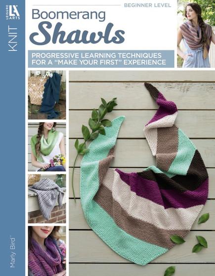 Leisure Arts Boomerang Shawls Knit Book