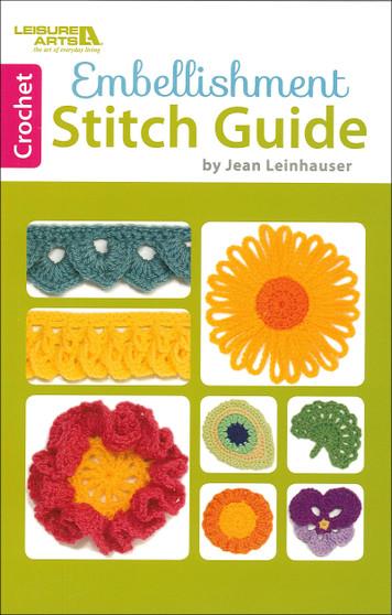 Leisure Arts Embellishment Stitch Guide Book