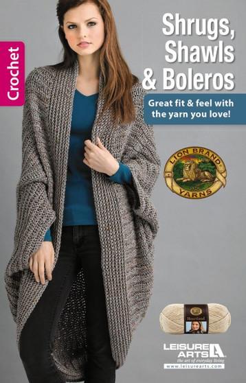 Leisure Arts Shrugs, Shawls & Boleros Crochet Book