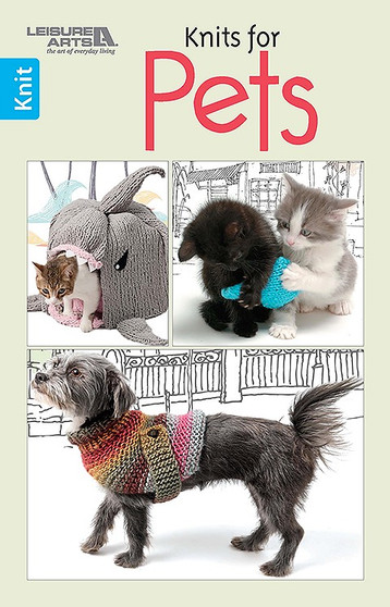 Leisure Arts Knits For Pets Book