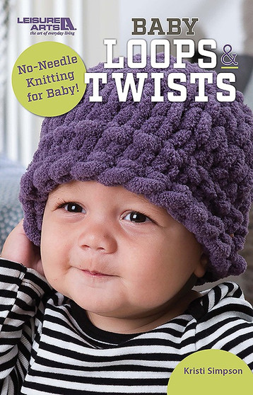 Leisure Arts Baby Loops & Twists Knit Book