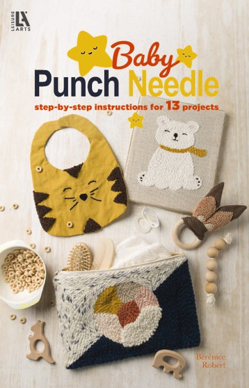Leisure Arts Baby Punch Needle Book