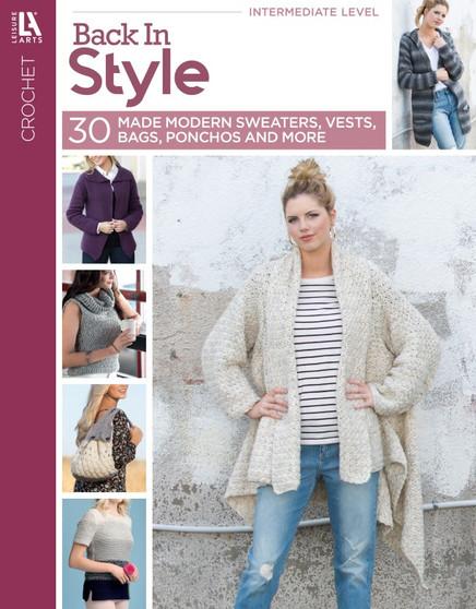 Leisure Arts Back In Style Crochet Book