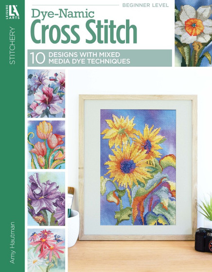 Leisure Arts Dye Namic Cross Stitch Book