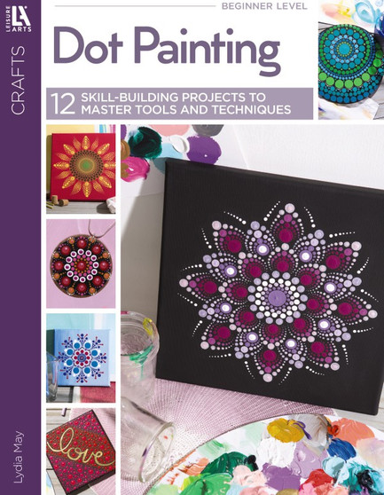 Leisure Arts Dot Painting Book