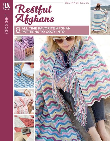 Leisure Arts Restful Afghans Crochet Book