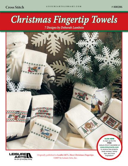 ePattern Christmas Fingertip Towels
