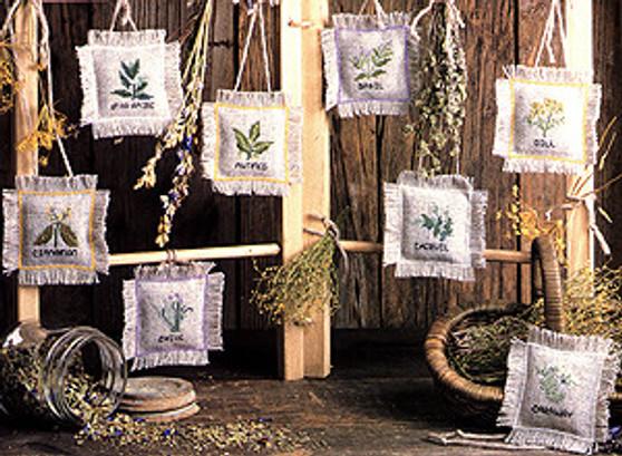 ePattern Flowering Herb Cross Stitch Patterns