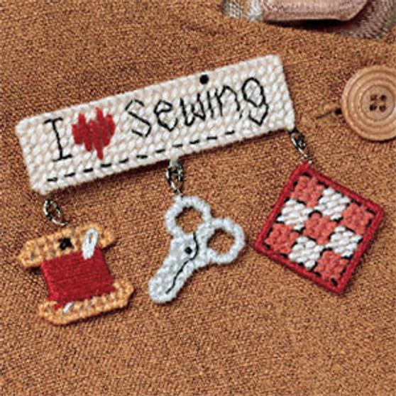 ePattern I Love Sewing Pin