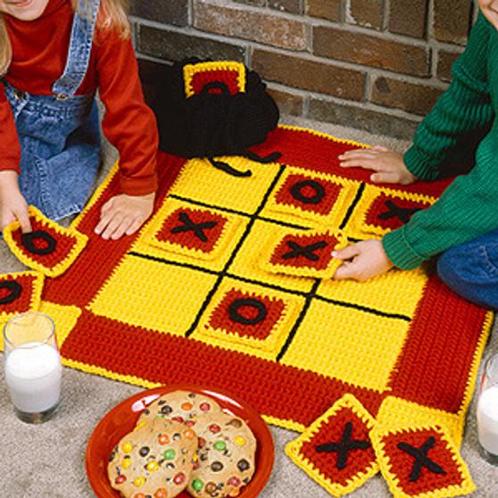 ePattern Tic-Tac-Toe Board to Crochet