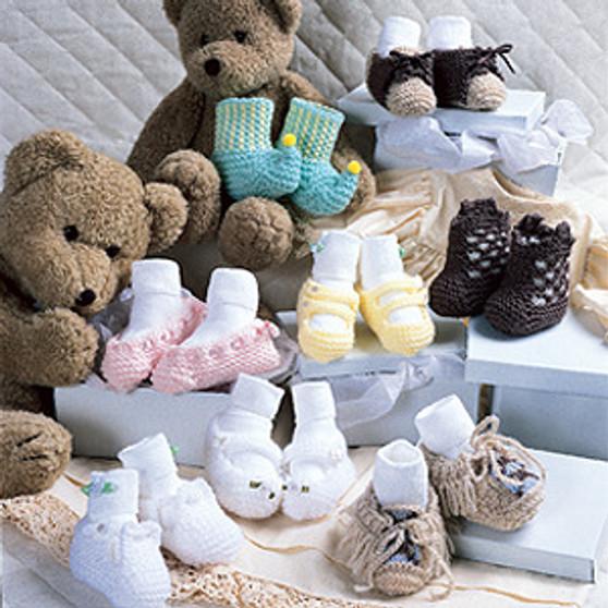 ePattern Adorable Baby Booties