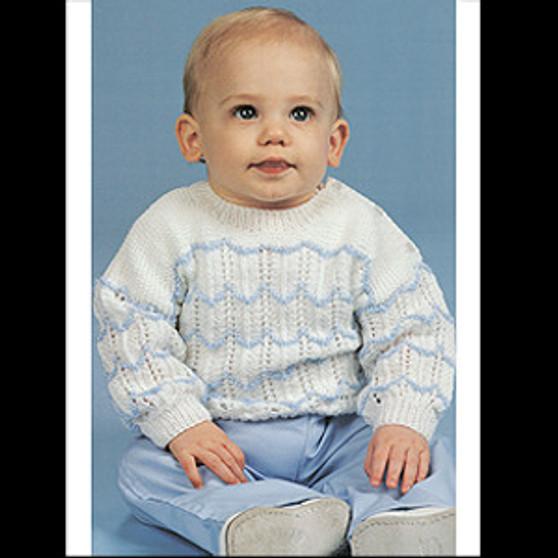 ePattern Little Boy Blue Sweater