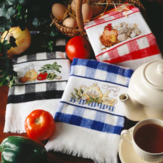 ePattern Kitchen Check Towels