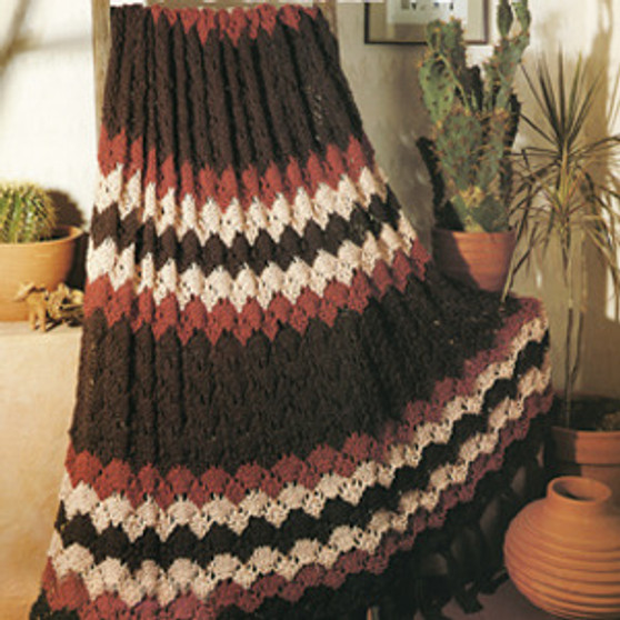 ePattern Quick Knit Ripple Afghan