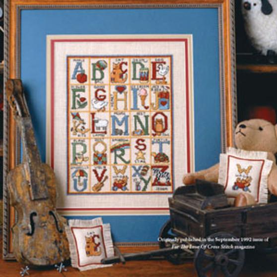 ePattern Old-Time Alphabet
