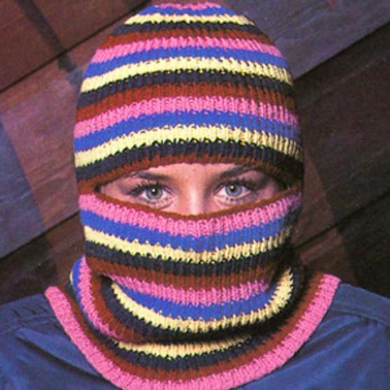 ePattern Striped Ski Mask