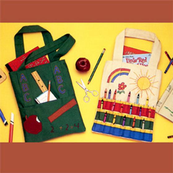 ePattern School & Crayon Totes